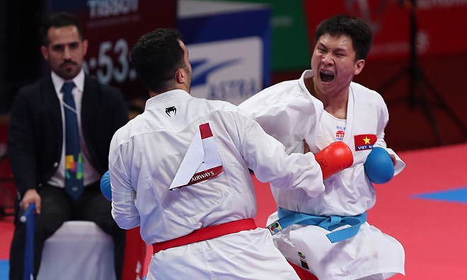 ASIAD 2018: Vietnam grabs a silver in Karate