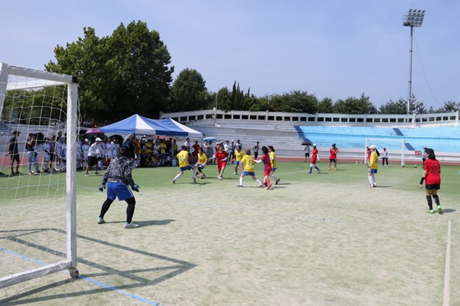 Sport festival for Vietnamese students in RoK