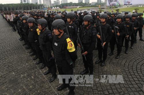 Anti-terrorism drill in Indonesia ahead of ASIAD 2018