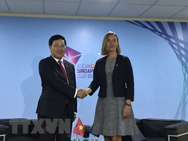 Deputy PM urges EU to remove yellow card on Vietnamese seafood