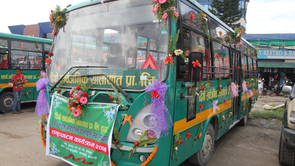 Nepal reduces congestion and pollution in Kathmandu