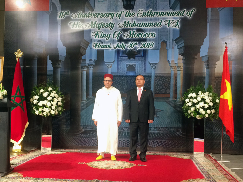 Vietnam-Morocco bilateral relation has reached a high level of political maturity