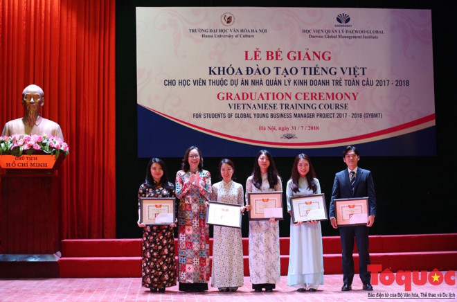 Vietnamese training course for 91 Korean students closes