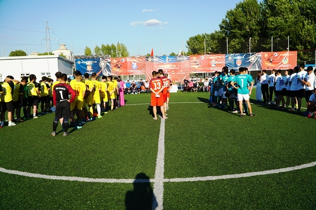 Football tournament for Vietnamese community in Russia