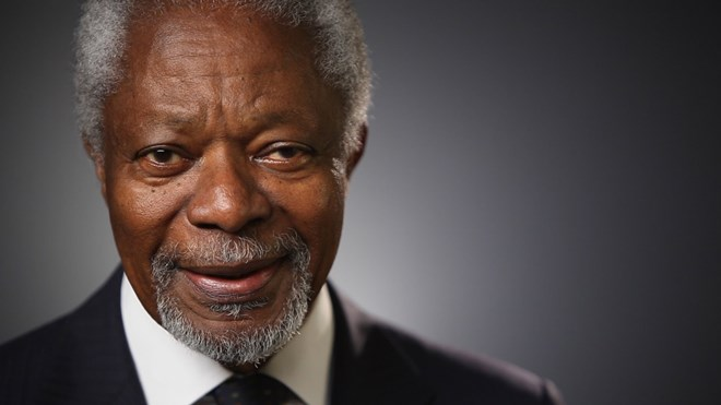 UN to hold events to commemorate Kofi Annan