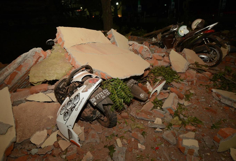 At least 91 people die in Indonesia earthquake