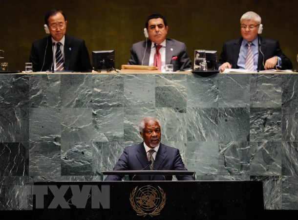Ghana's President declares week of Kofi Annan's funeral