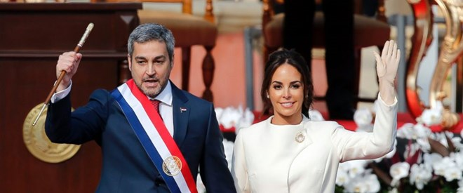 Mario Abdo Benitez sworn in as Paraguay's President