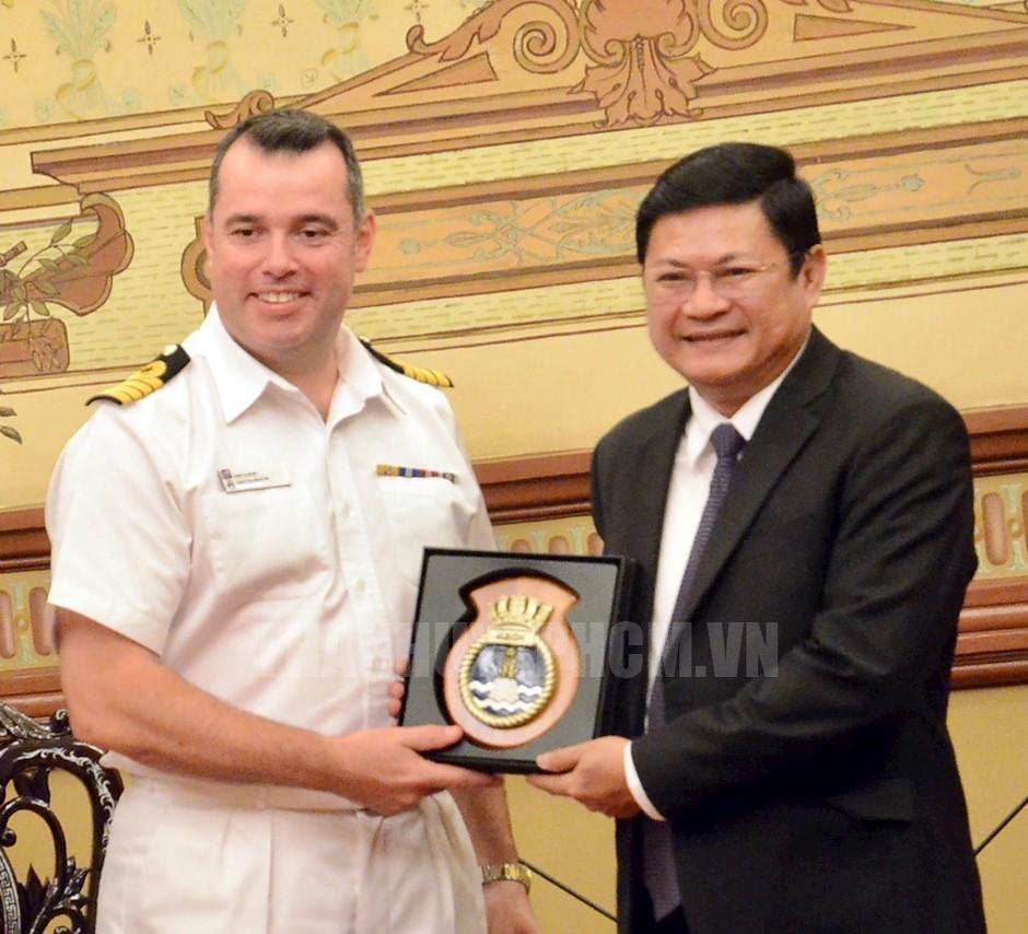 Ho Chi Minh city, UK seek increased cooperation