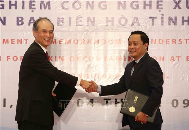 Vietnam, Japan cooperate in treating dioxin at airport
