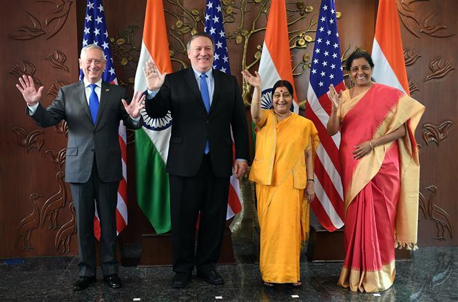 """2+2"" dialogue: India - US pledge to combat terrorism"