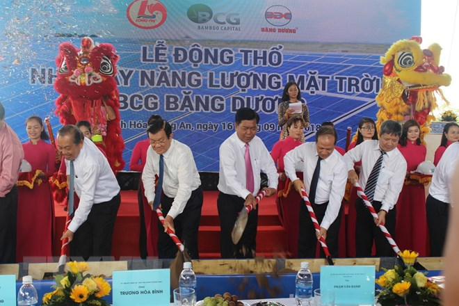 USD42 million solar power project inaugurated