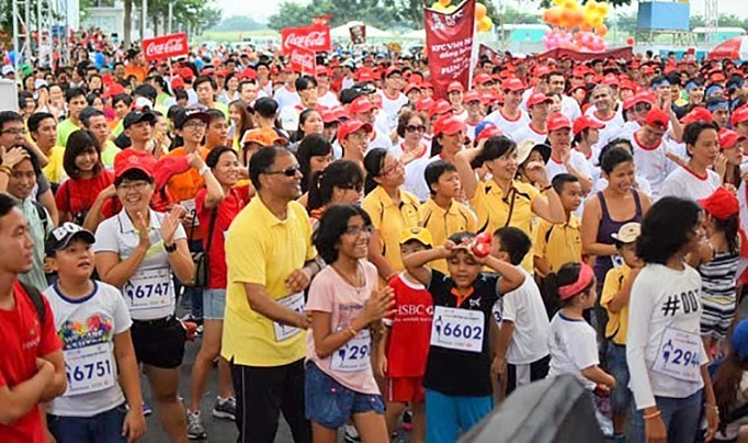 British Business Group Vietnam organizes run for charitable fund
