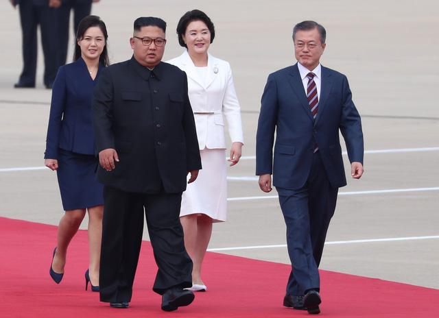 RoK President Moon Jae-in visits DPRK