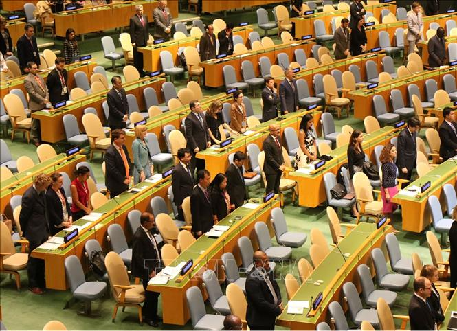 UN General Assembly hold minute's silence to remember President Tran Dai Quang