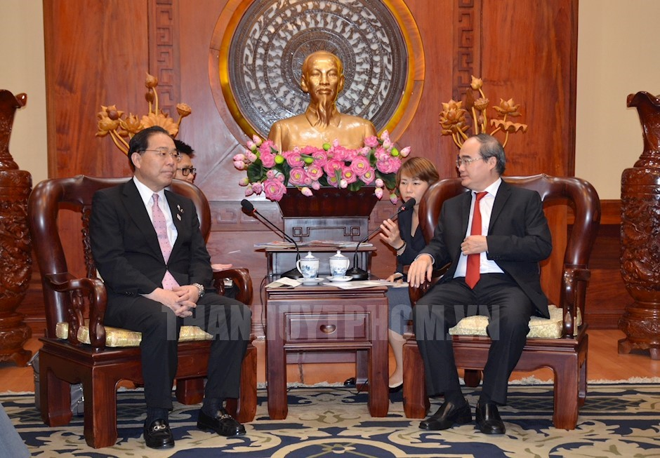 Ho Chi Minh city increases cooperation with Japanese locality
