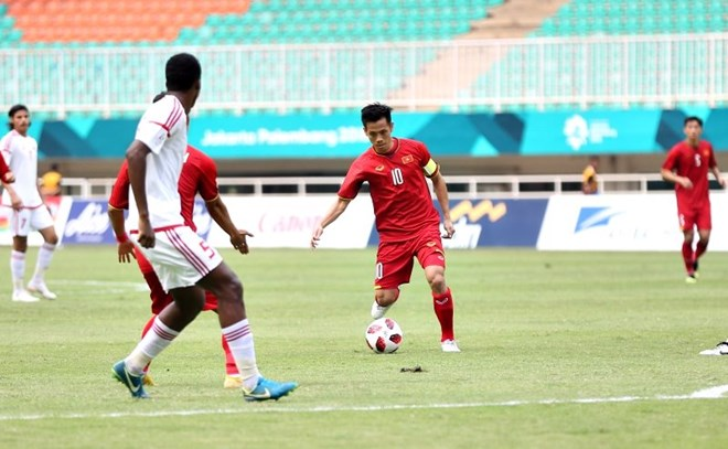 Vietnam lose to UAE in ASIAD playoff for bronze medal