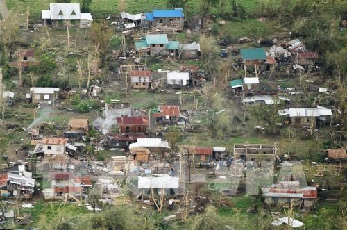 Typhoon Mangkhut damages Philippine rice production
