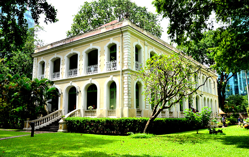 Visiting nearly 150-year-old French-architectural villa in Ho Chi Minh city