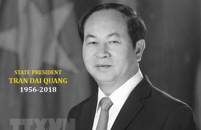 Condolences pour in over passing of President Tran Dai Quang