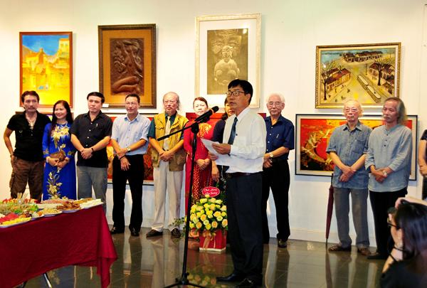 Fine arts exhibition on Hanoi in Autumn