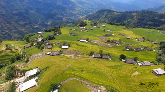 Experiencing specific culture at Hoang Su Phi terraced fields