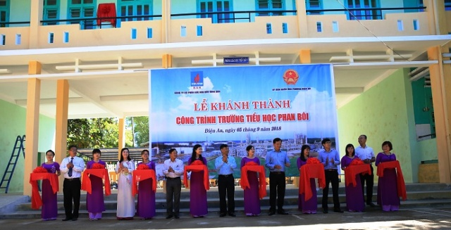 BSR-funded primary school inaugurated