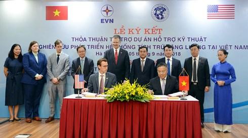 USTDA to support energy storage system in Vietnam