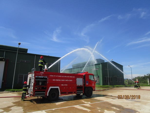 BSR joins fire fighting and prevention maneuvers with PV Building