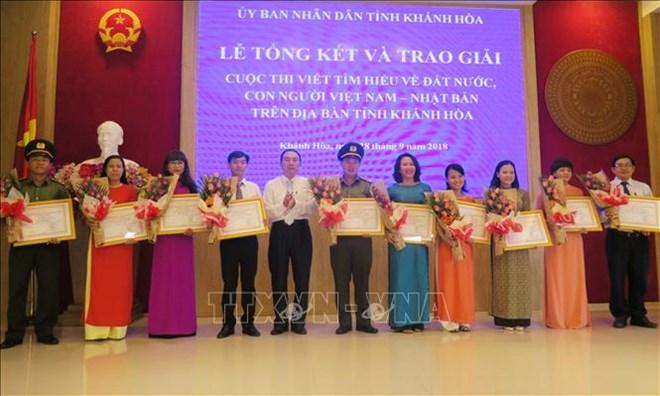Winners of writing contest on Vietnam – Japan ties honoured
