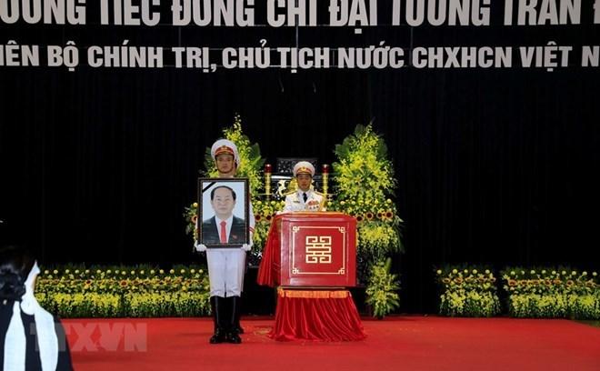 More condolences to Vietnam over President Quang's death