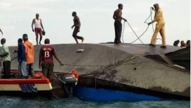 Ferry capsizes in Tanzania's Lake Victoria, at least 40 dead