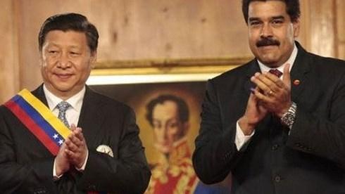 Venezuela's President Nicolas Maduro visits China