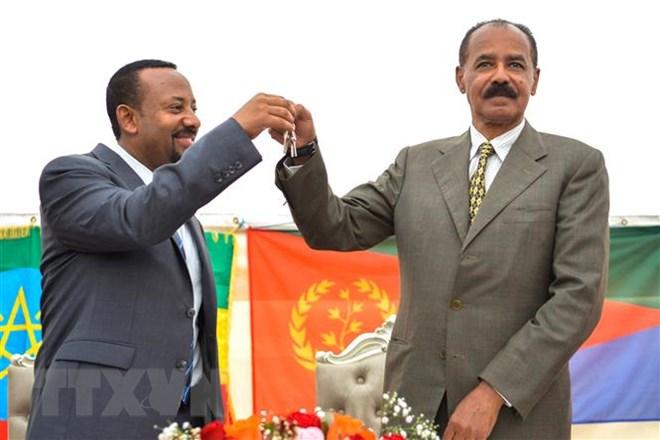 Ethiopia and Eritrea sign Peace Accord