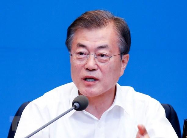 RoK President Moon Jae-in visits US