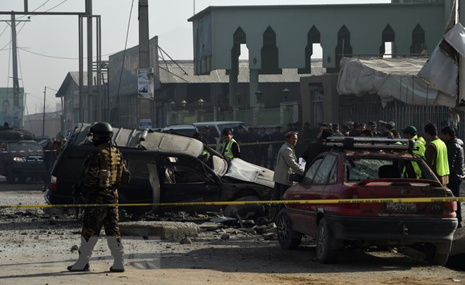 At least 20 dead in twin blasts at sports center in Afghanistan