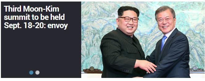 3rd inter-Korean summit to open in Pyongyang