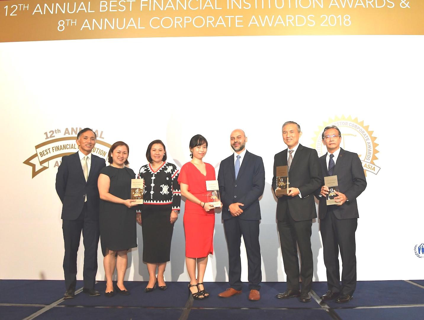 Vietcombank named Vietnam's best bank in 2017