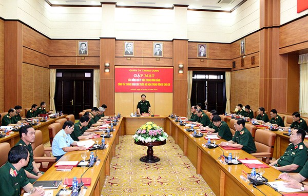 Party Central Committee military members gather ahead 8th PCC meeting term XII