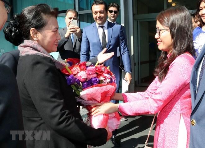 NA Chairwoman arrives in Turkey for MSEAP 3