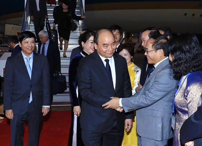 PM arrives in Tokyo for 10th Mekong-Japan Summit Meeting