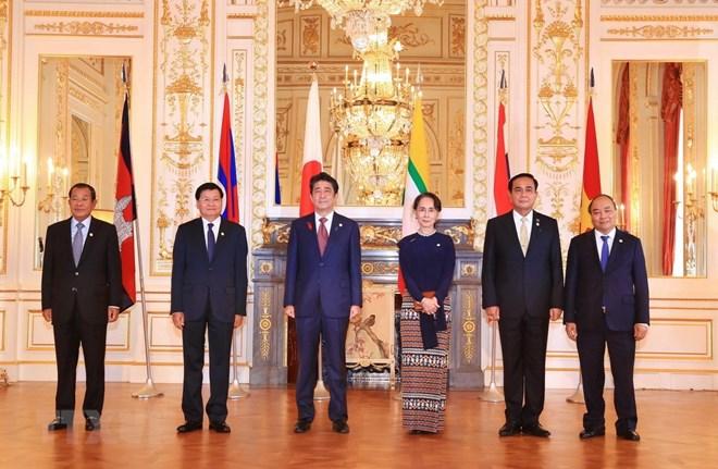 PM Nguyen Xuan Phuc attends 10th Mekong-Japan Summit