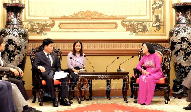 Increasing cooperation between Ho Chi Minh city and Korean locality