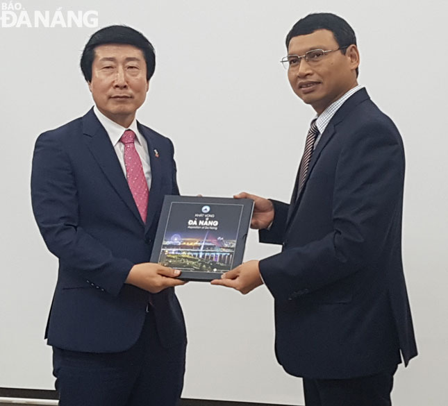 Increasing cooperation between Da Nang and Korean locality