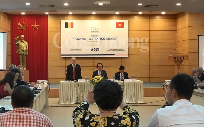 Vietnam, Romania see golden opportunity for economic cooperation