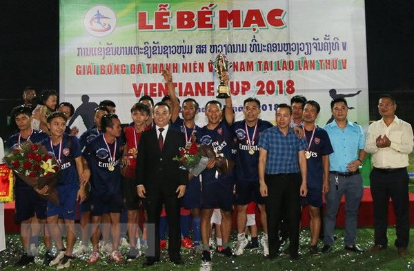 5th Vientiane Cup 2018 for Vietnamese youth in Laos concludes