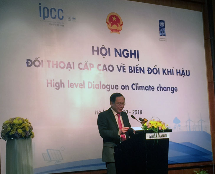 IPCC presents findings of the Special Report on Global Warming of 1.50