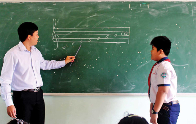 Ten schools in Khanh Hoa province pilot teaching Recorder flute