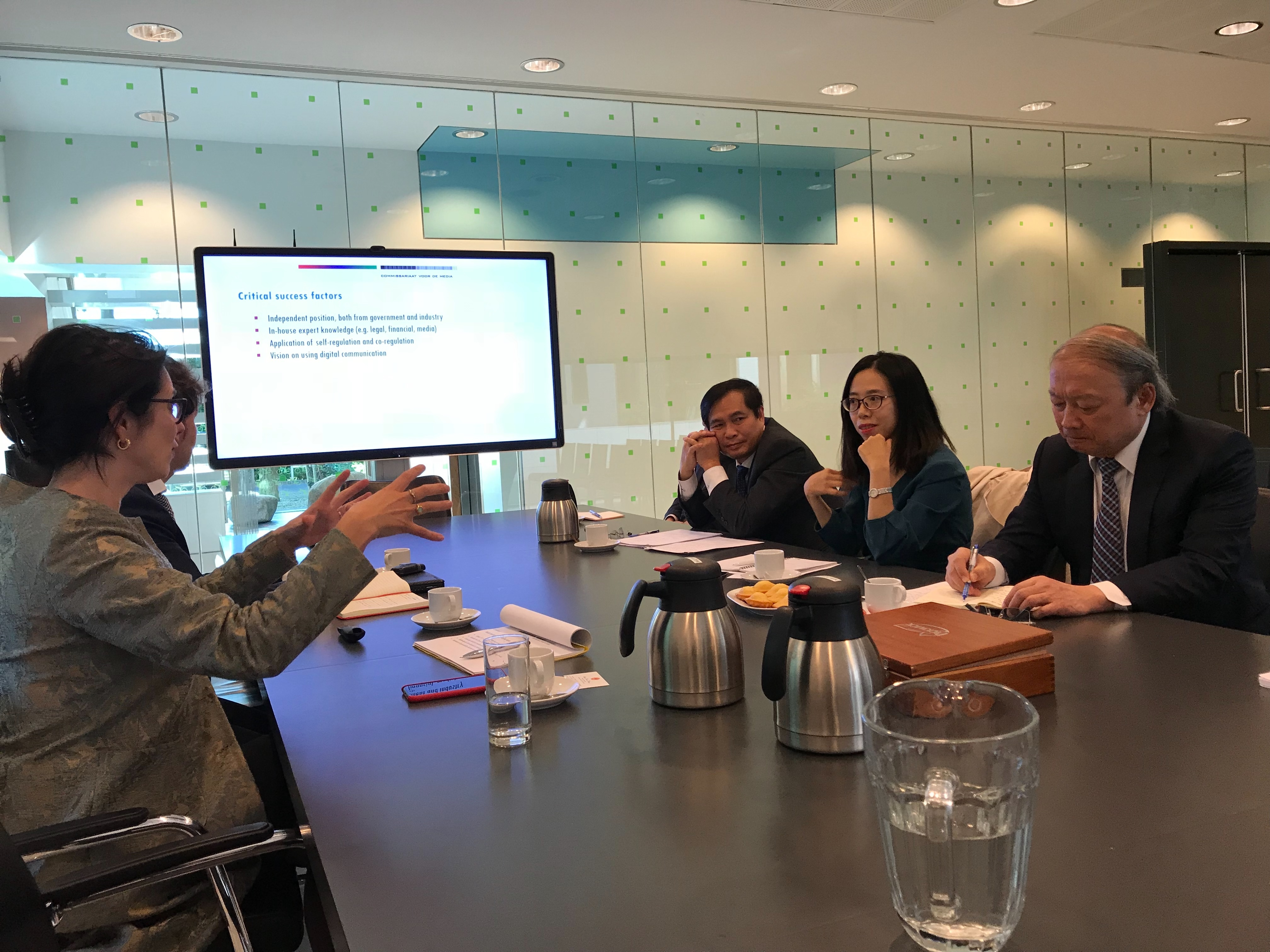 PCC Commission for Popularization and Education delegation pays working visit to the Netherlands