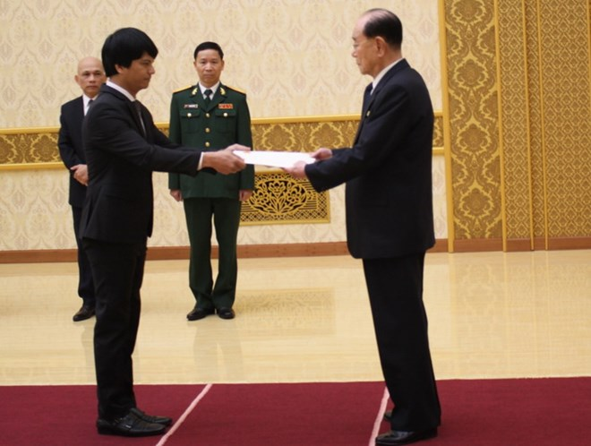 Vietnamese Ambassador to DPRK presents his credentials